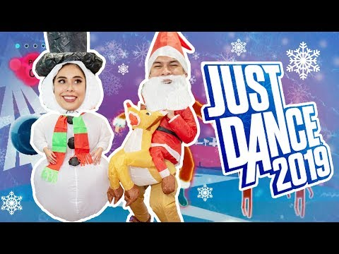 CRAZY CHRISTMAS - Husband vs Wife - JUST DANCE 2019