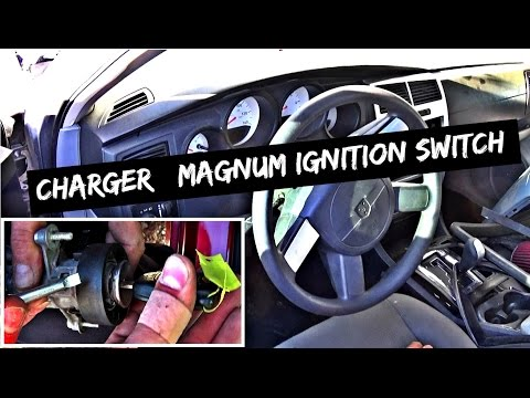 Dodge Charger Magnum Ignition Switch Removal and Replacement
