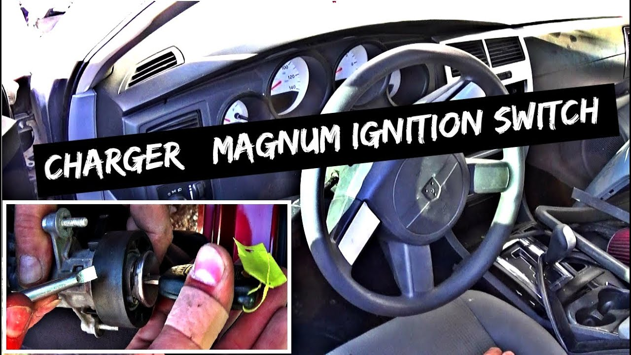 Dodge Charger Magnum Ignition Switch Removal and