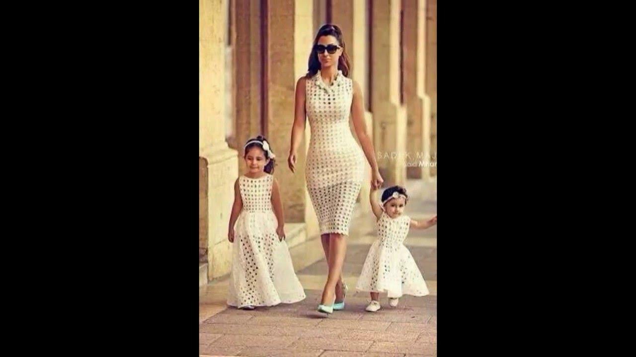 Vestidos de fiesta para madre y hija iguales