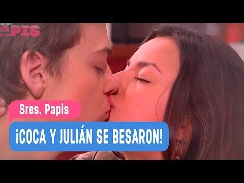 Sres. Papis - ¡Coca y Julián se besaron! - Valentina y Julián / Capitulo 53