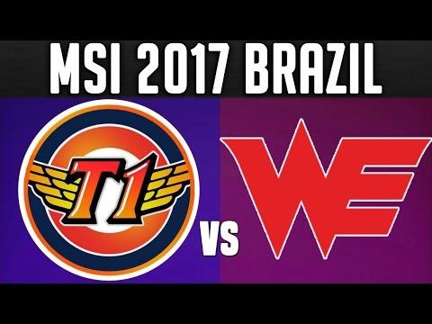 SKT vs WE - MSI 2017 Day 5 - 2017 Mid Season Invitational Group Stage Day 5 | LoL Esports