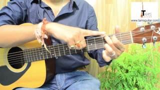 Behind blue eyes guitar lesson (Limp Bizkit) picking pattern (www.tamsguitar.com)