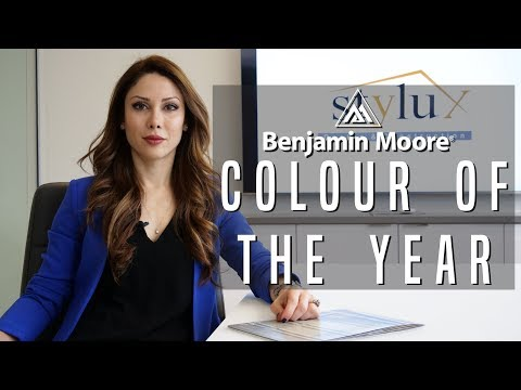Exploring Benjamin Moore's Color Of The Year 2019