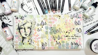 NEW Dina Wakley Scribble Sticks & Paints