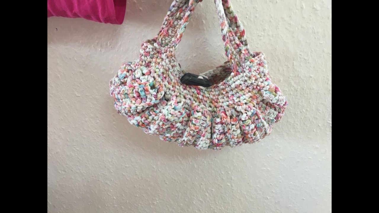 Bien-aimé Tuto sac a main au crochet - YouTube DP51