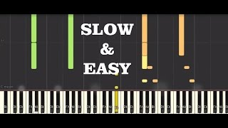 Tutorial for the epic.piano soundtrack that opens the finale of GOT...