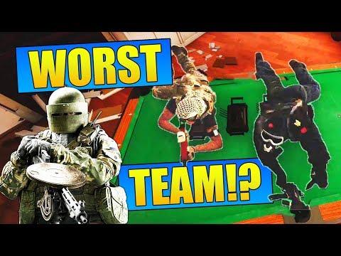 The WORST Team in Rainbow Six Siege!