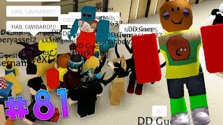 GWIBARD TAKES OVER THE INTERVIEWS & RAIDING WITH FANS|ROBLOX EXPLOITING #81