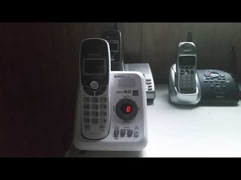 (Last Video) Vtech CS6124 DECT 6.0 Cordless Telephone with Digital Answering System Test