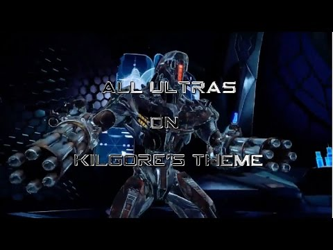 Killer Instinct Season 3: All Ultras on Kilgore's Theme