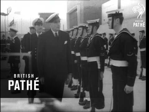 First Lord Opens New Smith Dock (1954)