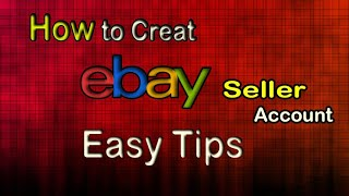 How To Create an Ebay Seller Account? eBay Account Set Up | Step By Step | Things you need to know screenshot 4