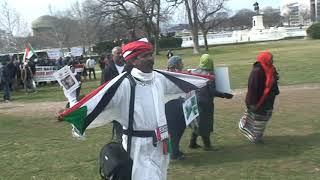 شرقت شرقت نيويورك مرقت هكذا دخل ثوار نيويورك ساحة الكونجرس في مظاهرة السودانيين بواشنطن ١٦ فبراير