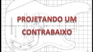 Projeto Contrabaixo Luni NMB003 06 Cordas