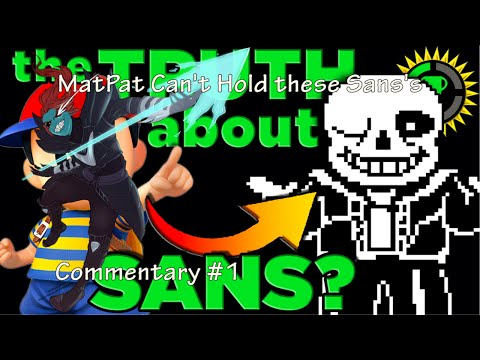 Matpat Can't Hold These Sans's (Commentary on Game Theory)