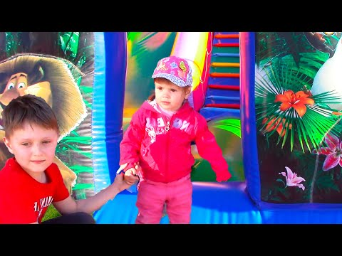 Thumbnail: Outdoor Playground Family Fun Play Area for kids / Baby Nursery Rhymes Songs for Kids!