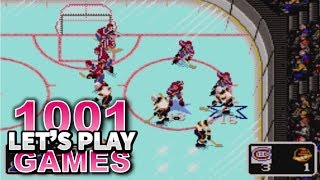 NHL Hockey (Sega Genesis/Mega Drive & Game Gear) - Let