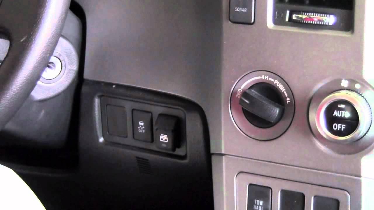 2012 Toyota Tundra Power Rear Window How To By