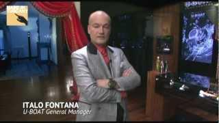 Video intervista a ITALO FONTANA, creatore del marchio di orologi U-BOAT