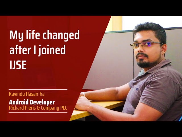 How to become a software engineer?  Kavindu said