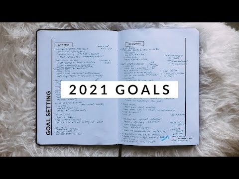 My 2021 Yearly Goals | Goal Setting & Motivation | Aja Dang