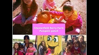 Visiting Chesterfield Berry Farm (halloween Pumpkin Patch & Hayrides & Much More)