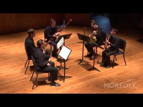Norfolk Chamber Music Festival 2017 - Harbison: Wind Quintet