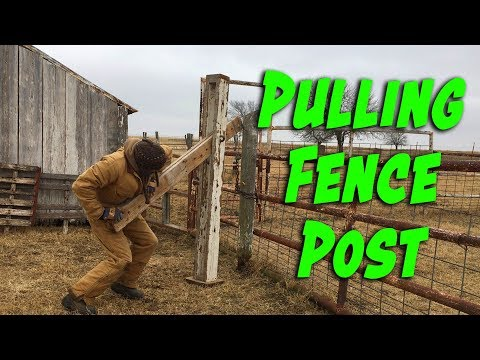 Pulling a Fence Post... the EASY Way!