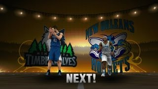 NBA 2K13 My Career - Starting Again, Anderson Drops 30