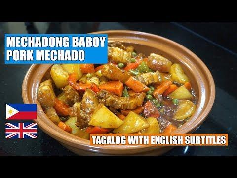Pork Mechado -  Mechadong Baboy - Pinoy Pork Stew - Filipino Recipes