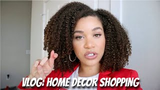 VLOG: Home Decor Shopping Has Been a Fail 😩  | Lyasia in the City