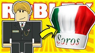 [PRIZE] Chef Soros Hat Virtual Item | Roblox Celebrity Series 2 - Soro's Server