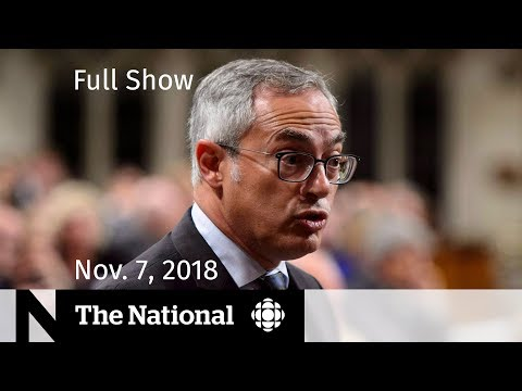 The National for Wednesday, November 7, 2018 — Tony Clement, Jeff Sessions Resigns, Trudeau Apology Mp3