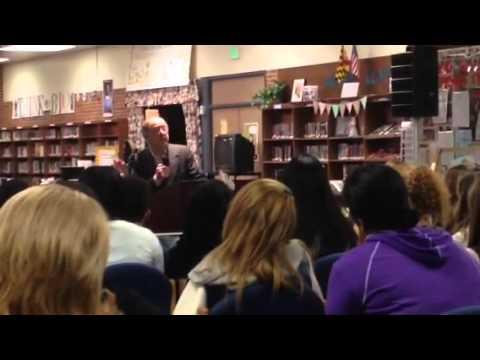 Havre de Grace Middle School, Guest Speaker Mr. Rubin Sztajer Part I