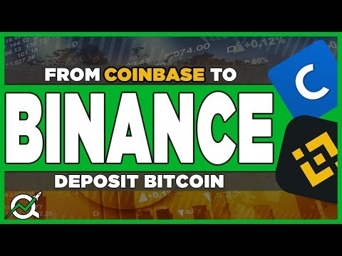 How To Deposit Bitcoin From Coinbase To Binance