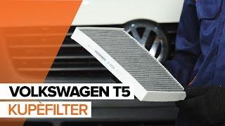 Reparasjon VW MULTIVAN gjør-det-selv - videoopplæring nedlasting