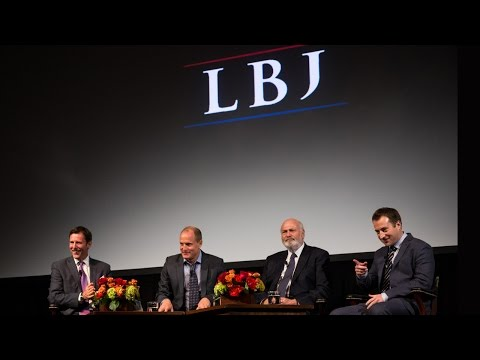 """LBJ"" Film Discussion with Rob Reiner, Woody Harrelson, and Joey Hartstone"