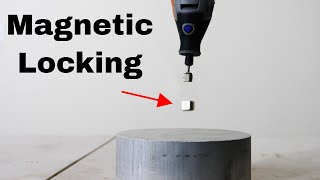 Magnetic Locking WITHOUT a Superconductor!