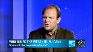 Who rules the Web? : ITU vs. ICANN