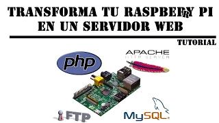 Como montar un servidor web en tu raspberry pi en menos de 10 minutos - tutorial