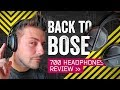 - The Best Travel Headphones Again: Bose 700 Review