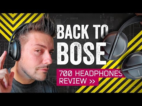 The Best Travel Headphones [Again]: Bose 700 Review