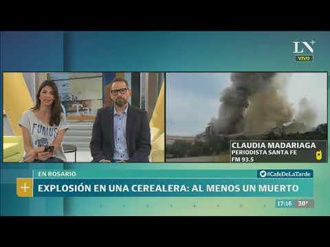 Explosión en una cerealera de Rosario: al menos un muerto - Café de la Tarde