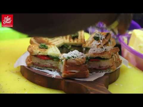 3 Special Sandwiches - Mayonnaise Sandwitch - Veggie Pasta Sandwich - Mushroom Masala Sandwich