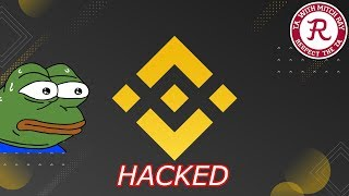 Binance LIVE : BNB Hacked! CZ AMA! Episode 497 - Crypto Technical Analysis