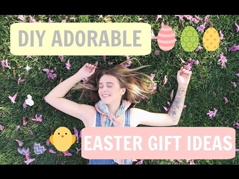 Super easy diy easter gifts youtube negle Image collections