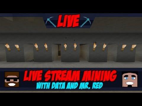 Mining Live Stream - Data & Mr. Red's Series Stream 3