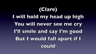 i will never let you know lyrics nashville