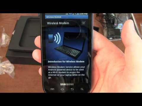 Samsung Mesmerize Unboxing